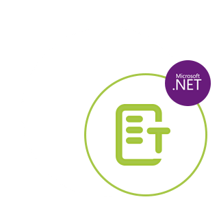 .NET Text extraction API
